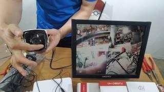 CCTV카메라 설치 및 녹화기 설정