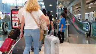 How to find Airluga Luggage Delivery and Storage Bangkok Airport