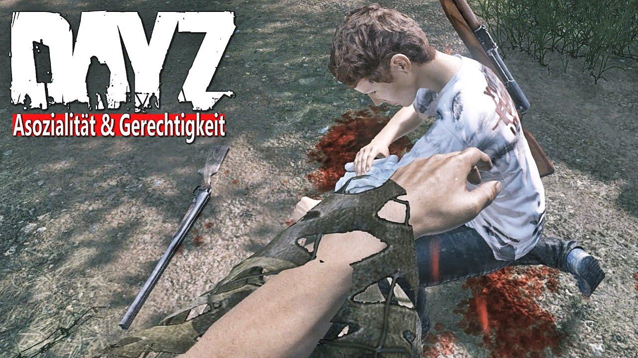 DAYZ - Die ASOZIALITÄT nimmt ihren LAUF - Die GEMEINSCHAFT gegen das BÖSE [Gameplay] Let's Play DayZ