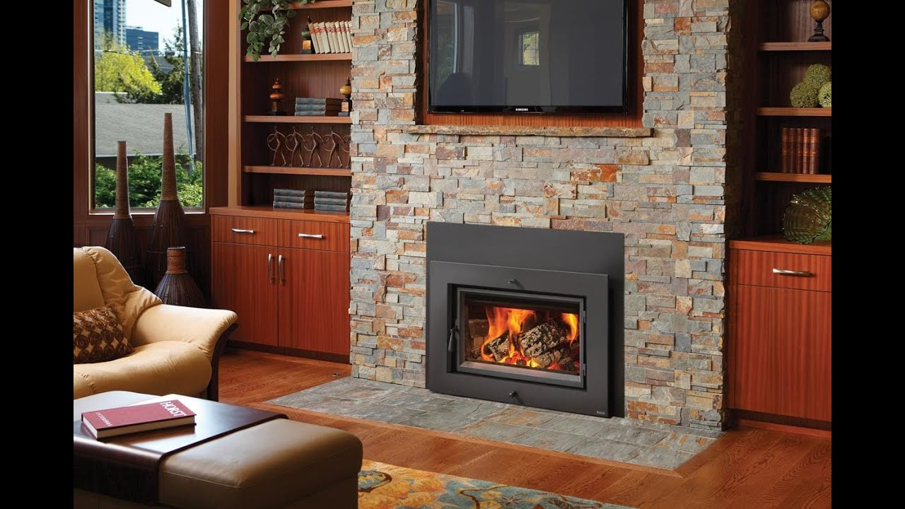 Wood stove surround ideas - Wood Stove Surround Ideas Wood Burning Stove Amp Fireplace Insert Atlanta Heat Your Whole