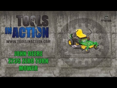 John Deere Z235 Zero Turn Mower - Dealer Advantage vs Big Box