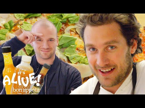 Brad and Sean Evans Make Cast-Iron Pizza | Its Alive | Bon Appétit