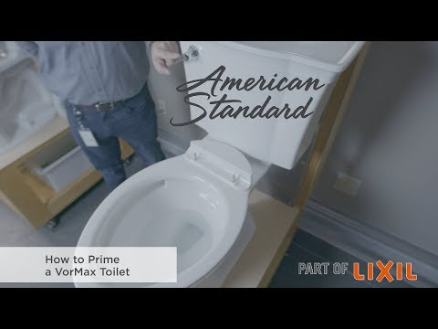 How To Prime A VorMax Toilet