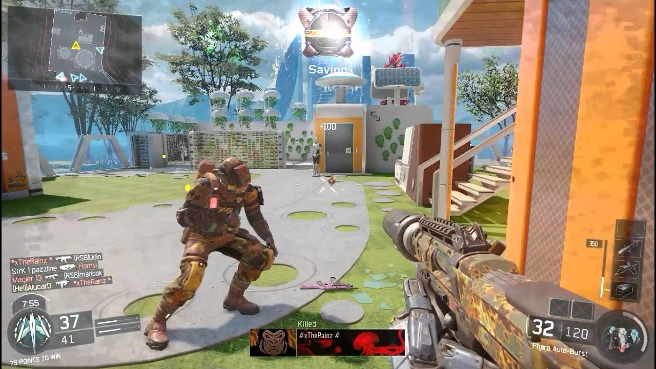 call of duty black ops 3 pc gameplay