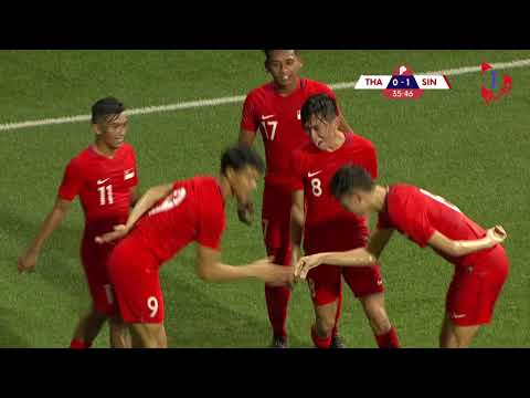 Merlion Cup: Singapore vs Thailand Highlights