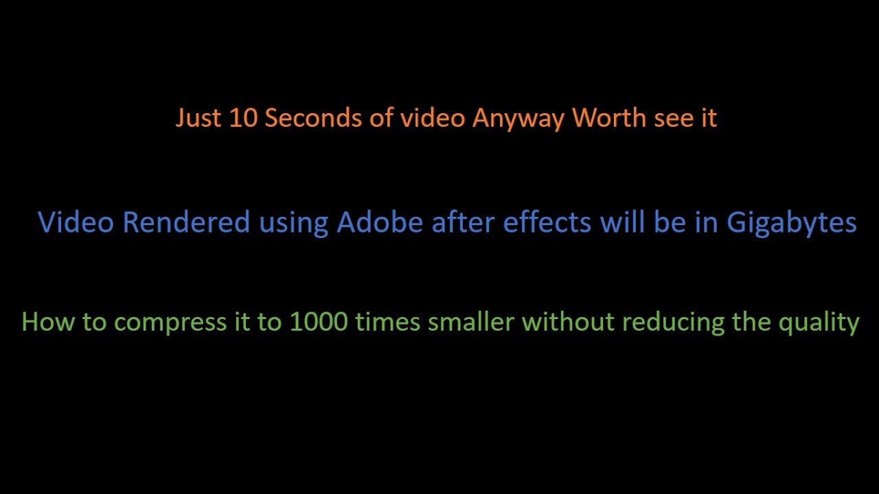 how to fix video quality in after effects