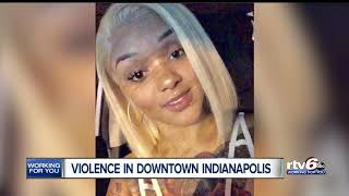 Violence in Downtown Indianapolis