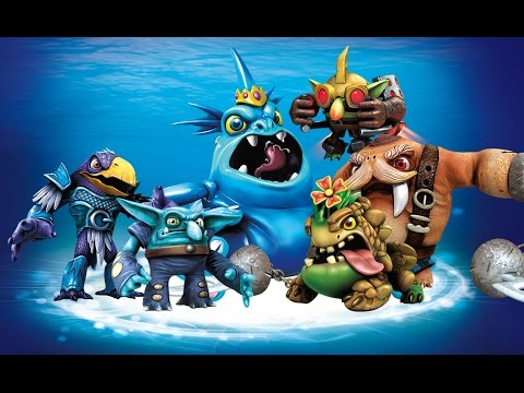 All Water Villains Quests + Evolutions in Skylanders: Trap ...