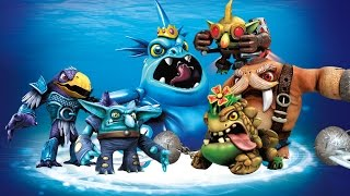 All Water Villains Quests  Evolutions in Skylanders Trap Team