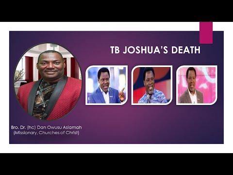 Download Bro. Dr. Dan Owusu Asiamah - TB Joshua's Death