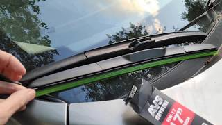 Замена щеток стеклоочистителя/дворников на Nissan Qashqai J11 2014