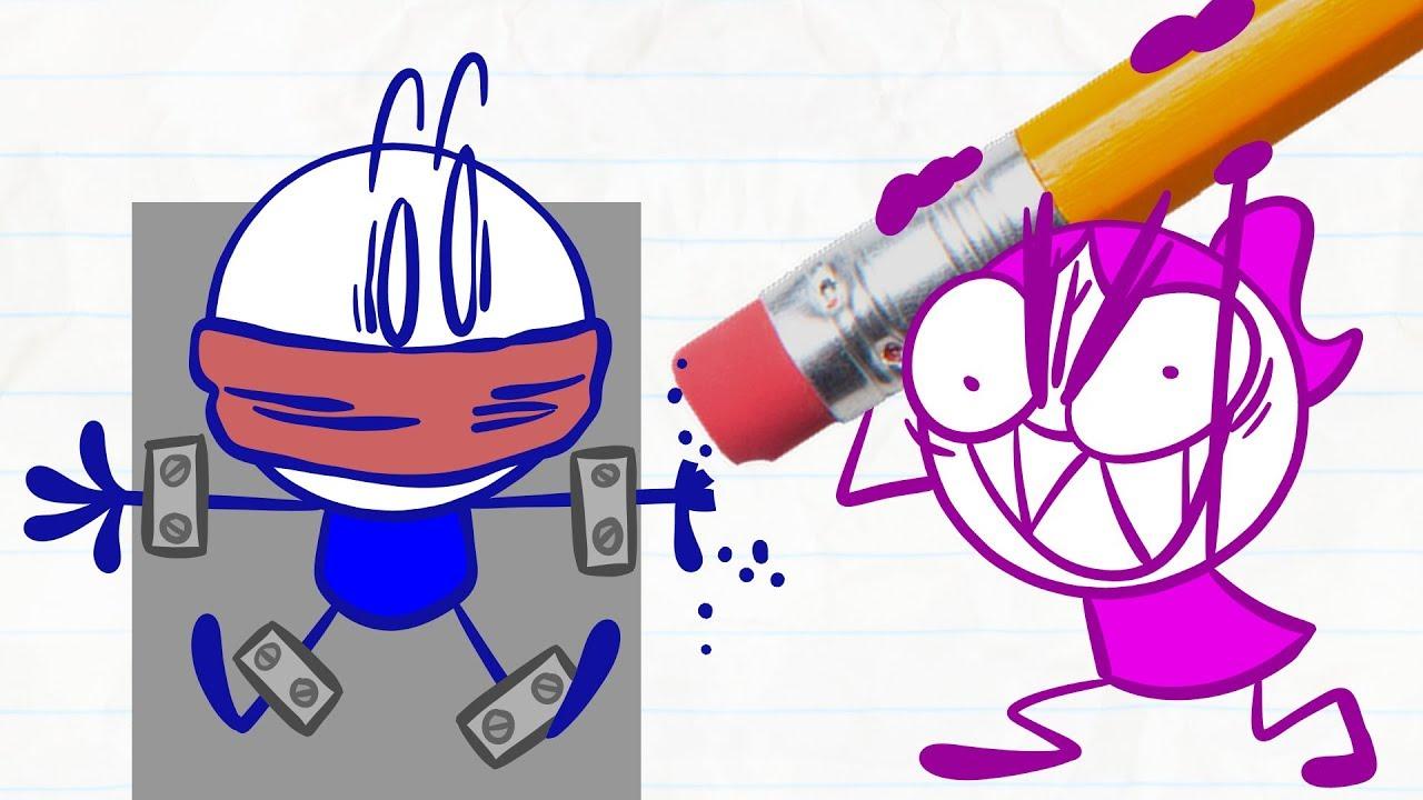 no-don-t-erase-pencilmate-in-hellraiser-eraser-pencilmation-compilation-for-kids