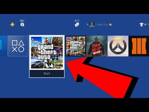 PLAYING GTA 6 ON PS4! (OFFICIAL GAMEPLAY)