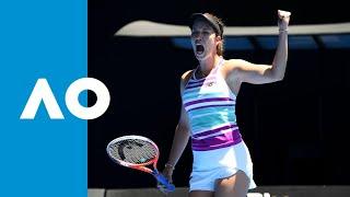 Julia Goerges v Danielle Collins match highlights (1R) | Australian Open 2019