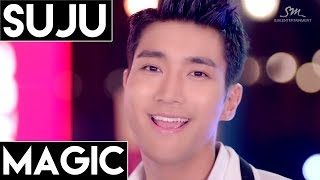 Super Junior : Magic Line Distribution (Color Coded)