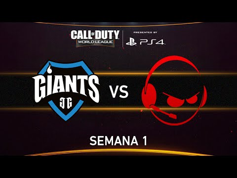 [GIA] Giants Gaming vs [INF] Team Infused - CWL - Semana 1 - Día 1