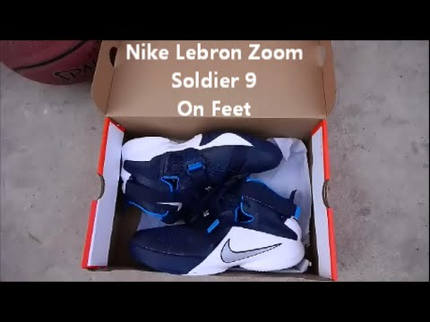 separation shoes ee38f c4c8f ... cheap nike lebron zoom soldier 9 on feet youtube bc0a9 264b1