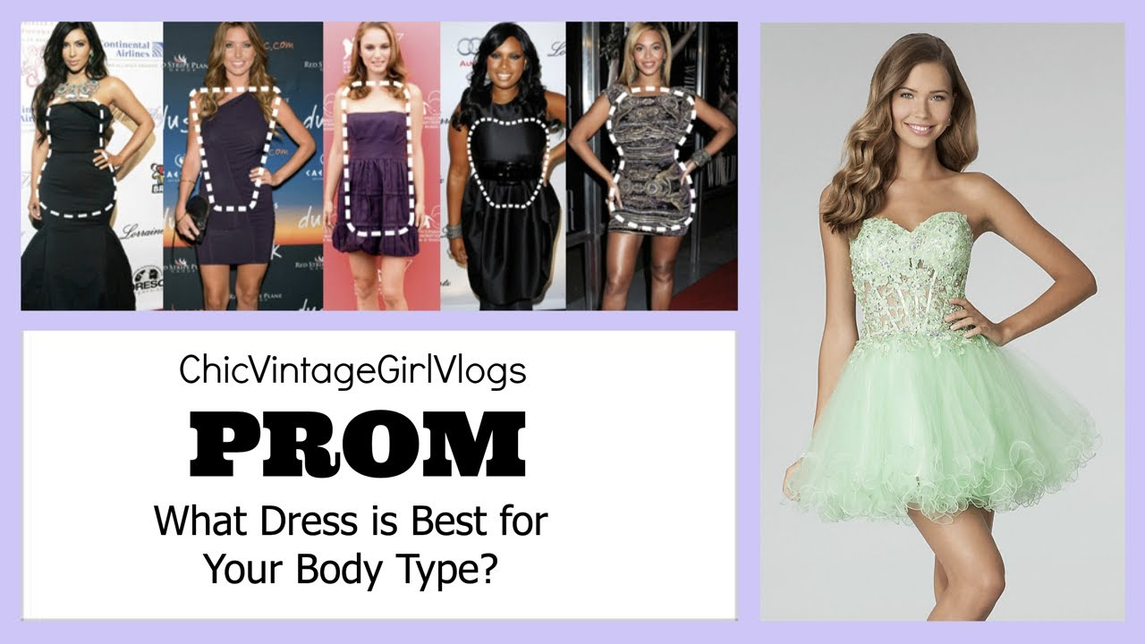 The Best Prom Dress For Your Body Shape Wpictures Youtube