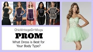 The Best Prom Dress for Your Body Shape (w/Pictures)