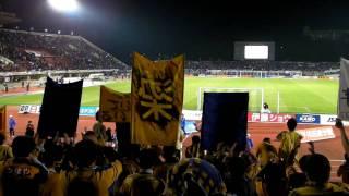 2010.3.28 Jリーグ第4節 ガンバ大阪vsベガルタ仙台 試合終了後のベガサポ.
