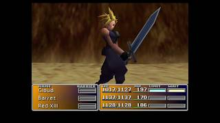 FINAL FANTASY VII. Boss Fight Bottomswell.