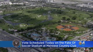 Miami Commission Scheduled To Vote On Lease Of Melreese Land For Soccer Stadium