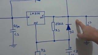 Como projetar uma fonte usando o LM317 - Teoria