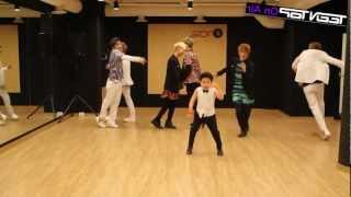 MIRRORED Miss Right - Teen Top ft Little PSY Dance Practice 2