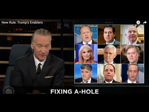 Bill Maher Hypocritically Admonishes Trump Enablers While Enabling Failures of Democratic Party