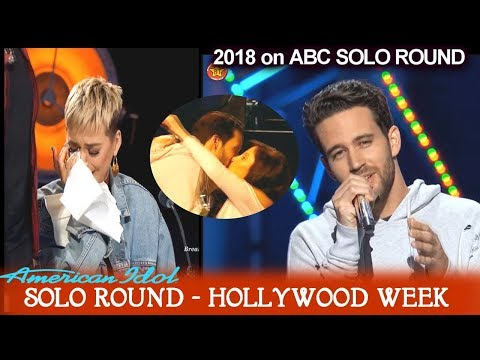 Trevor Holmes IS KATY OVER HIM? Make this place my Home Solo Round Hollywood Week American Idol 2018