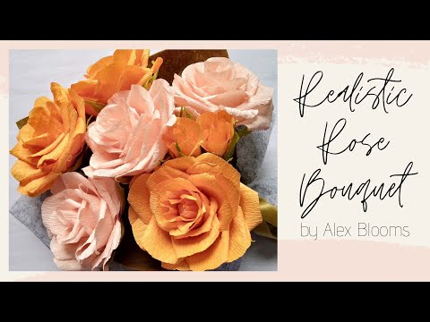 diy-crepe-paper-rose-bouquet-|-realistic-roses-|-how-to-make-realistic-roses-|-peach-rose-|-diy-gift