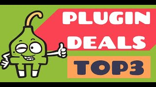 Top 3 Plugin Deals - June 18, 2020