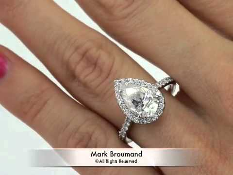1 2 Carat Pear Shaped Diamond