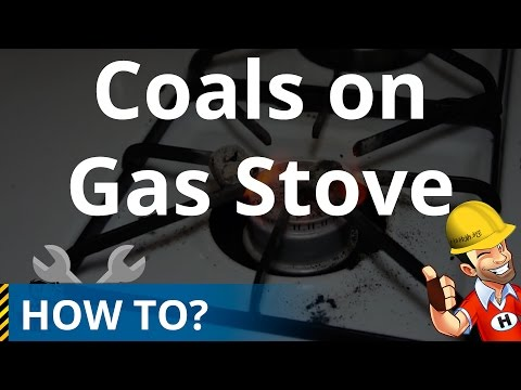 How to Light Coals on a Natural Gas Stove