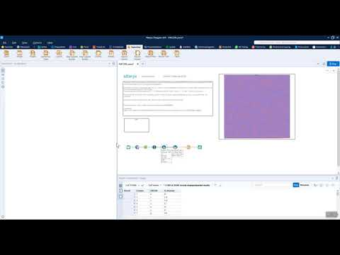 Alteryx Weekly Challenge 208: Building a heatmap in Alteryx
