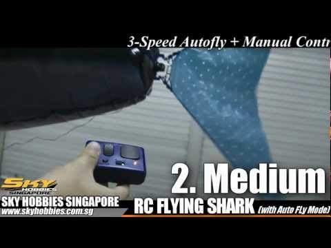Remote Control Flying Fish (with Auto-Fly)