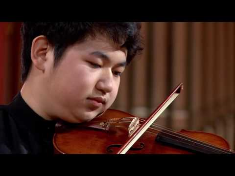 Xingzhou Rong (China) - Stage 1 - International H. Wieniawski Violin Competition BINAURAL