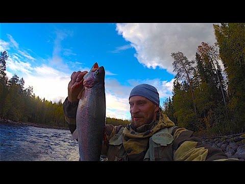 Рыбалка в Северной Карелии День 5-6 Финская форель и пороги