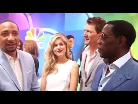 The Player: Damon Gupton, Charity Wakefield & Wesley Snipes 2015 NBC Upfronts s