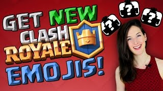 HOW TO GET HIDDEN CLASH ROYALE EMOJIS!