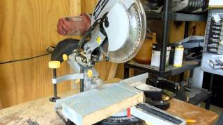 "Harbor Freight 12"" Double-Bevel Sliding Compound Miter Saw Review"