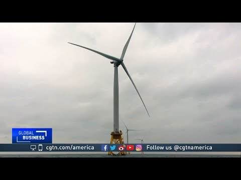 America's first offshore wind farm powering a small community