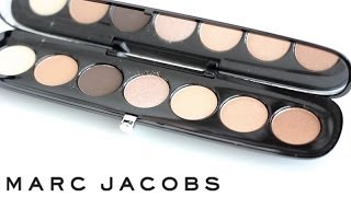 Marc Jacobs Style Eye-Con No.7 The Lolita Eyeshadow Palette Review & Tutorial