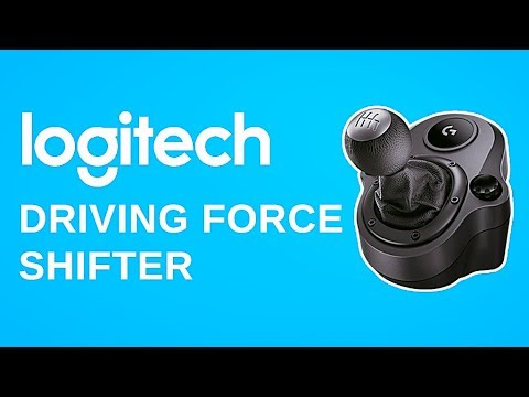 LOGITECH DRIVING FORCE SHIFTER [РАСПАКОВКА/ОБЗОР | UNBOXING/REVIEW]