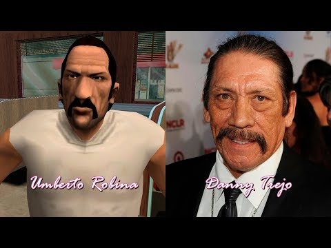 Grand Theft Auto: Vice City - Characters And Voice Actors