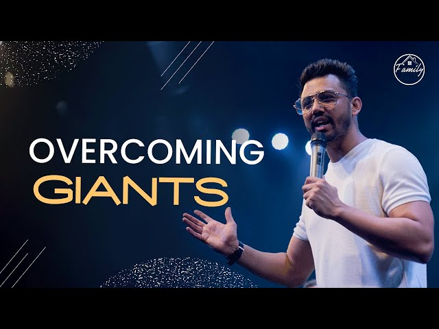 Overcoming Giants | Ps Ankit Sajwan | Folj Church