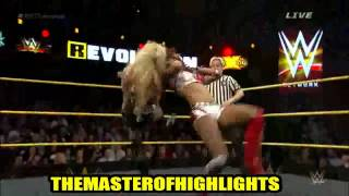 WWE NXT R Evolution 2015 Highlights HD