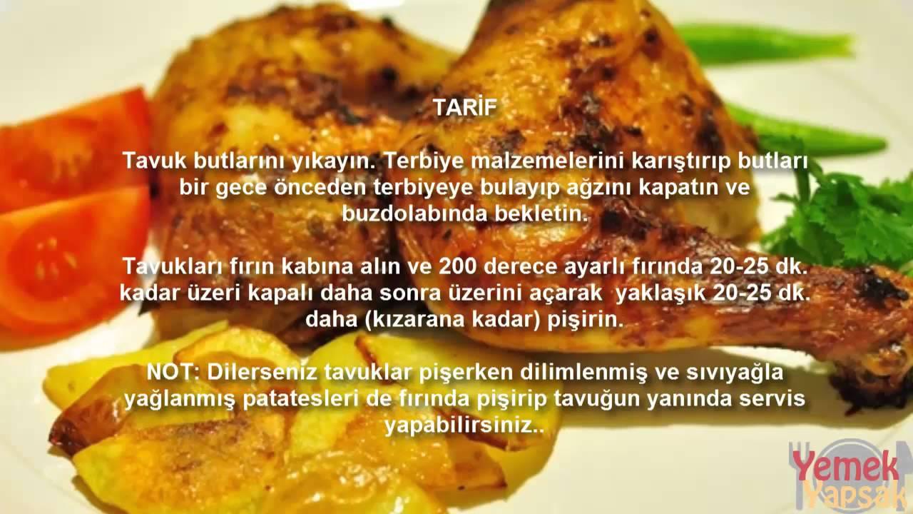 Fırında terbiyeli tavuk nasıl yapılır ? - YouTube