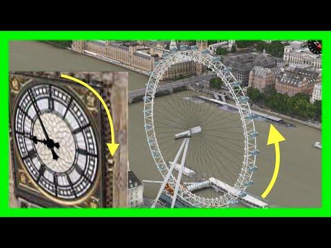 London Eye & Big Ben's Clock now Animated on Apple Maps 3D Flyovers on iOS & Mac OSX