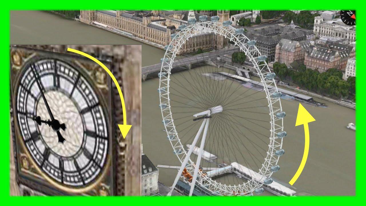 london eye big bens clock now animated on apple maps 3d flyovers on ios mac osx youtube